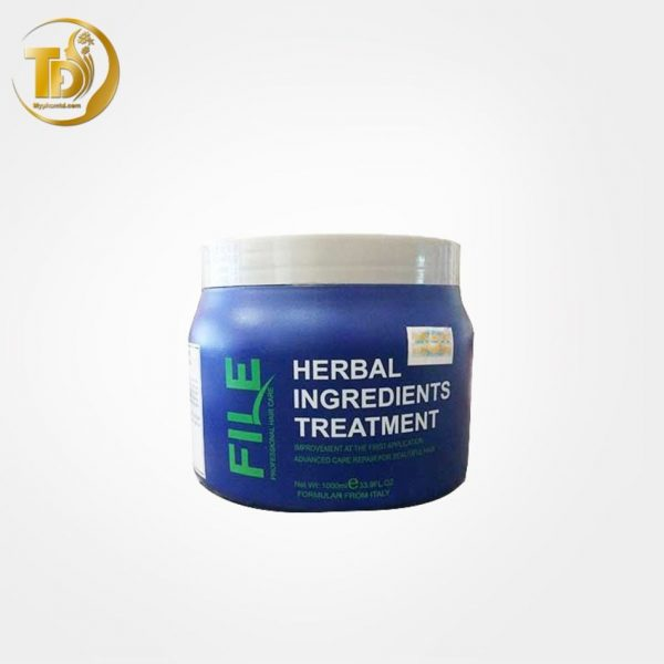 Hấp dầu thảo dược - File Herbal Ingredients Treatment